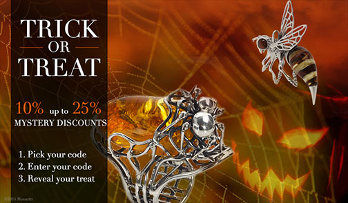 Halloween Offers, Monartti Jewellery